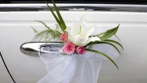 Flores y decoracion de coches floristerias Zaragoza