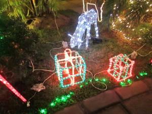 Decorar nuestro jardin en Navidad floristerias Zaragoza