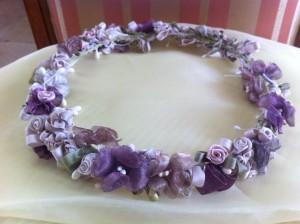 Tocados para el pelo en la primera comunion floristerias Zaragoza