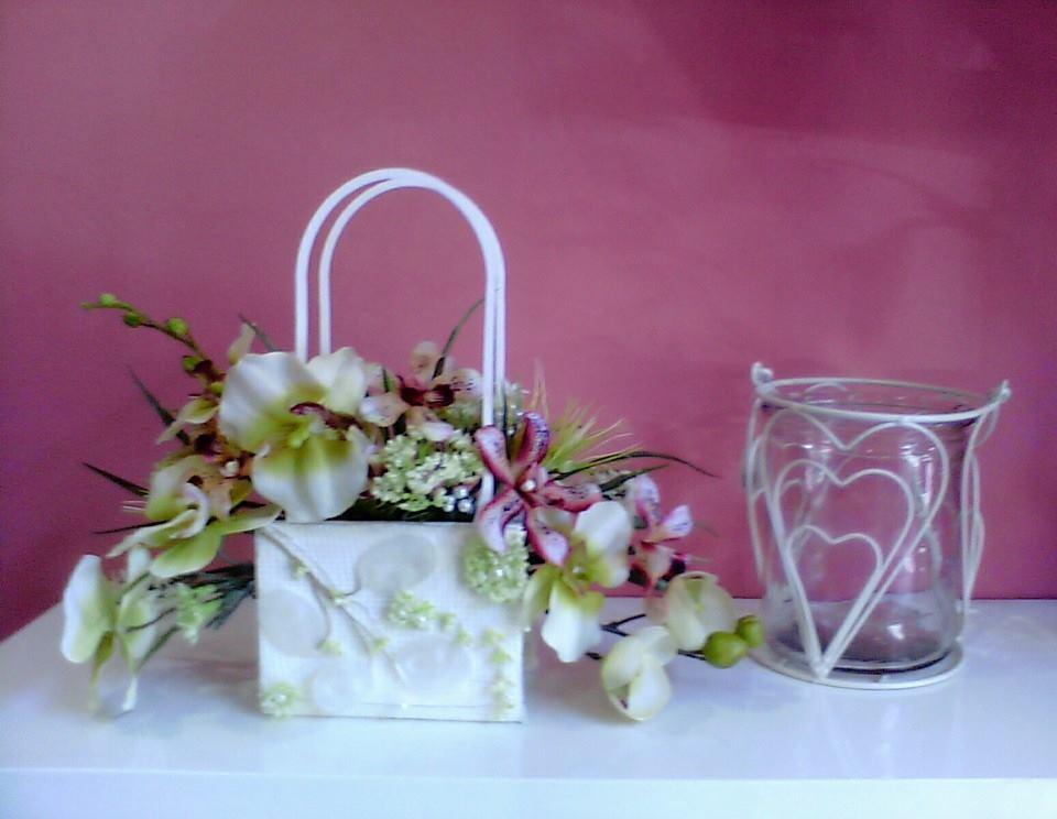 Bolso para novias floristerias Zargagoza