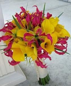 ramos de novia alegres floristerias Zaragoza