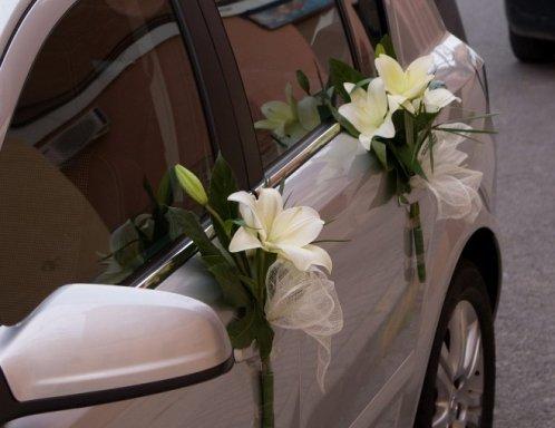 Decoraci n de coches para bodas florister a la mazeta zaragoza - Decoracion interior coche ...