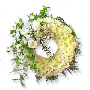 corona de flores floristerias zaragoza 1