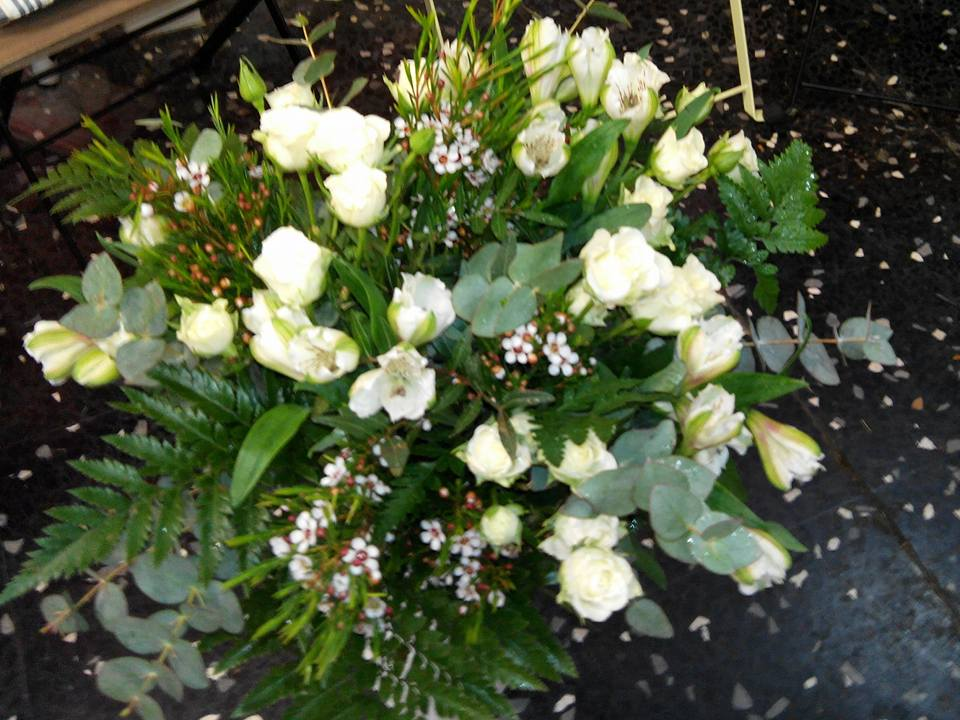 Rositas alstromelias flor de cera