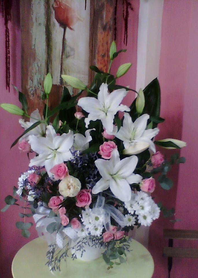 centro de Lilium  Rosas