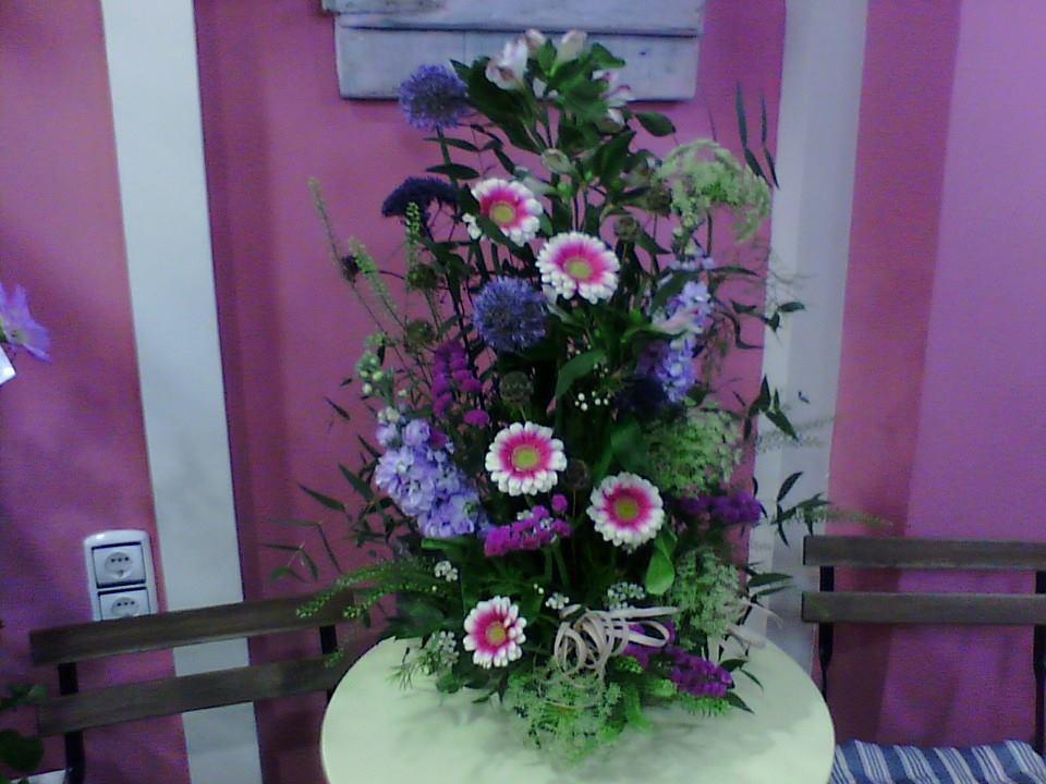 centro flores primavera