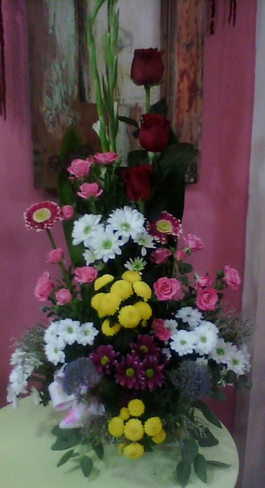cesto flores