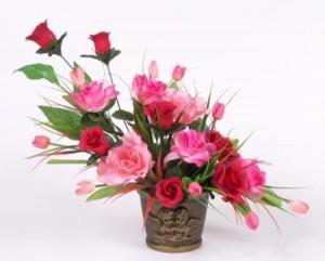 Como limpiar flores artificiales floristerias Zaragoza
