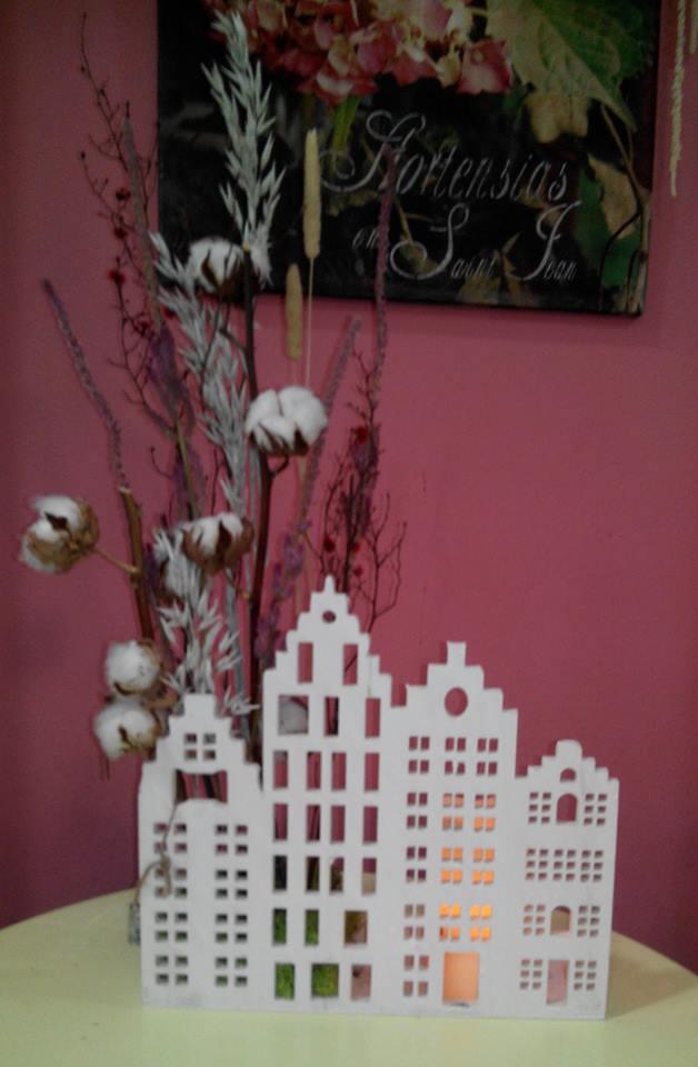 Decoraci n con flores secas florister a la mazeta zaragoza - Plantas secas decoracion ...