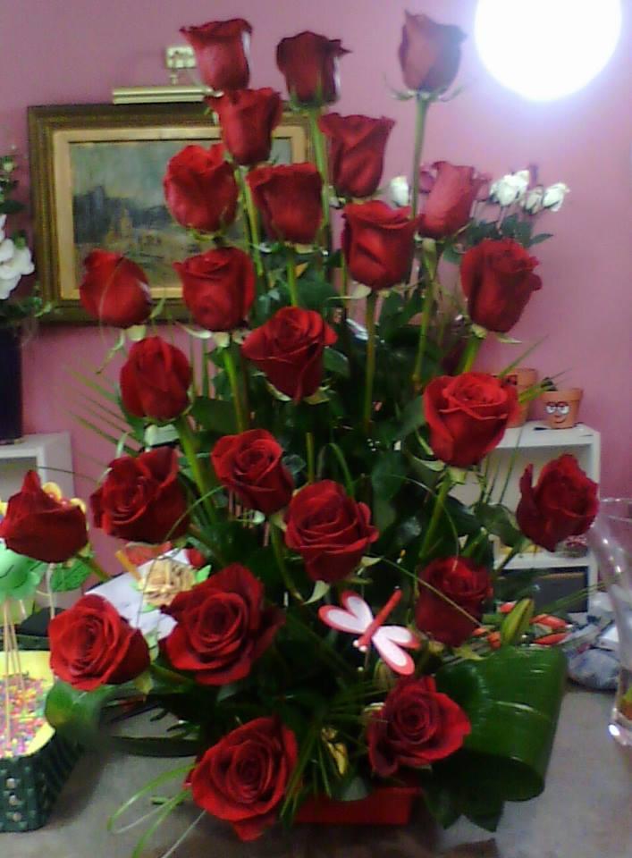 regalar flores por San Valentin floristerias zaragoza