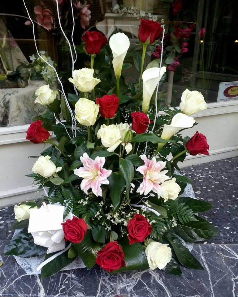 ramo de flores floristerias la mazeta