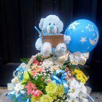 Felicita con flores floristerias zaragoza