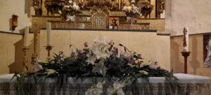 La decoración de la iglesiapara tu boda floristerias zaragoza