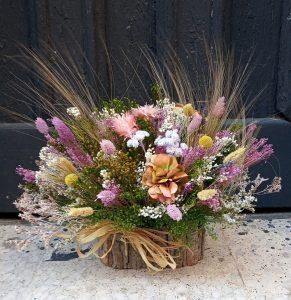 Centros de Flores secas floristerias zaragoza