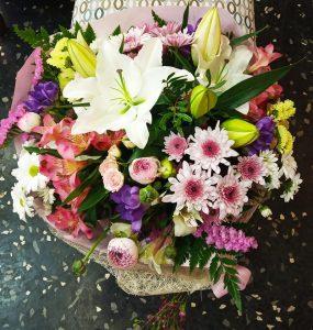 Felicitar con flores floristerias zaragoza