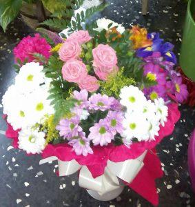 Flores para felicitar floristerias zaragoza