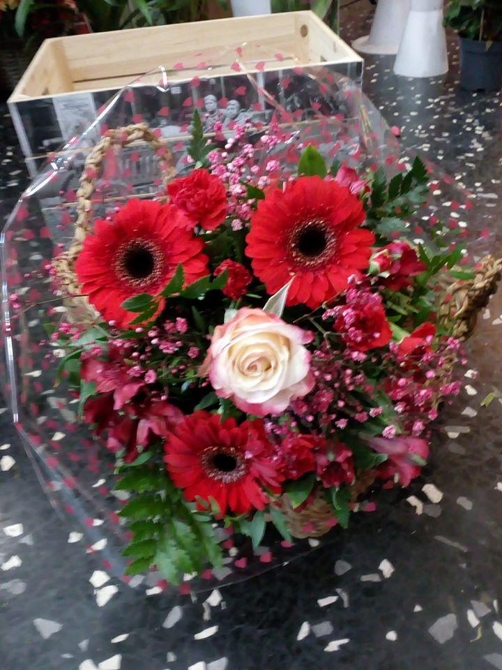 Ramos para San Valentin floristerias zaragoza
