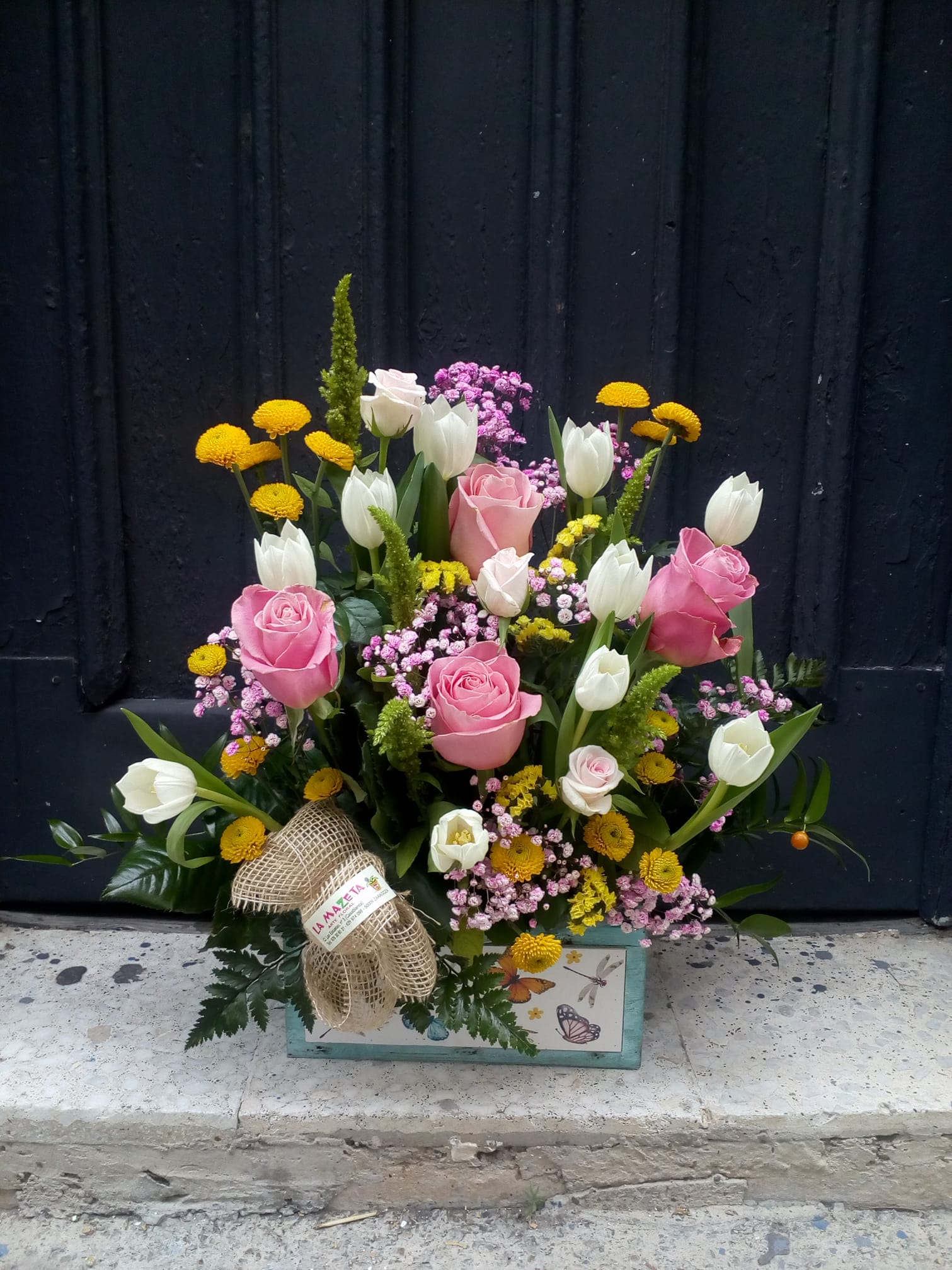Regalar centros de flores floristerias zaragoza